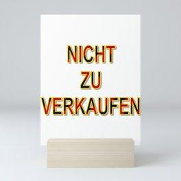 NOT FOR SALE E Mini Art Print