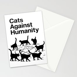 Cats Against Humanity Stationery Cards