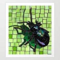 bug Art Prints featuring Bug by Bebe Keith Designs
