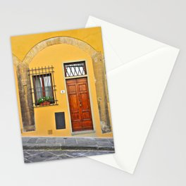 Italian Doorway, House Number 1 Stationery Cards