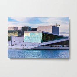 Oslo Opera House Metal Print