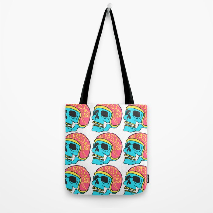 fast or last color Tote Bag