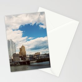 Hearts Over Pittsburgh Stationery Cards