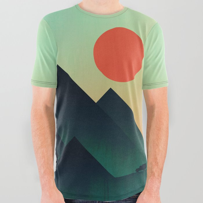World_to_see_All_Over_Graphic_Tee_by_Picomodi__Large