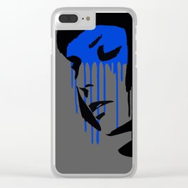 Graffiti Style Fashion Art - by Dominic Joyce Clear iPhone Case
