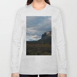 Mount Oakley Sunset Long Sleeve T-shirt