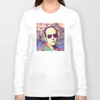 hunter s thompson Long Sleeve T-shirts featuring Hunter S. Thompson by victorygarlic - Niki