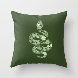 Slytherin House Throw Pillow