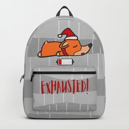 Christmas Celebration: Exhausted! Backpack