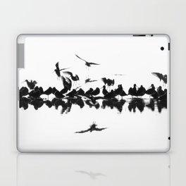 Long-billed Dowitchers Laptop & iPad Skin