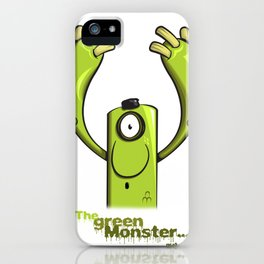 THE GREEN MONSTER... iPhone Case