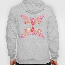 Summer Cicada – Pink Palette Hoody