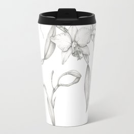 An Orchid with Charisma Travel Mug