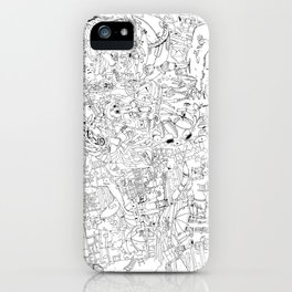 Fragments of memory iPhone Case