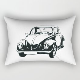 Classic Beatle Rectangular Pillow