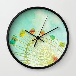 I Remember Summer Wall Clock