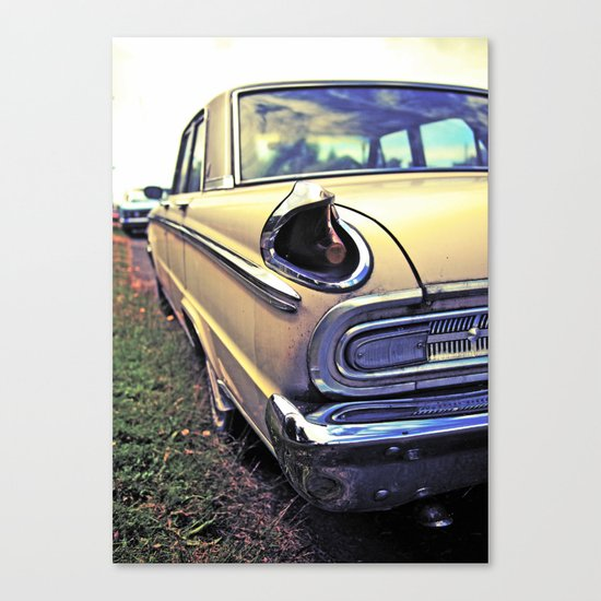Meteor taillight Canvas Print