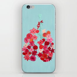 Simply Breathe - Lungs For Whitney iPhone Skin