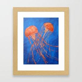 Dance of the Sea Framed Art Print