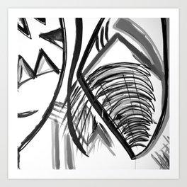 Midnight Dreams Shower curtain Art Print