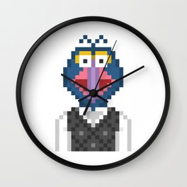Gonzo The Muppets Pixel Character Wall Clock