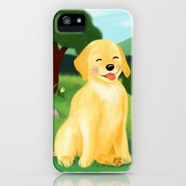 A Golden Day iPhone Case