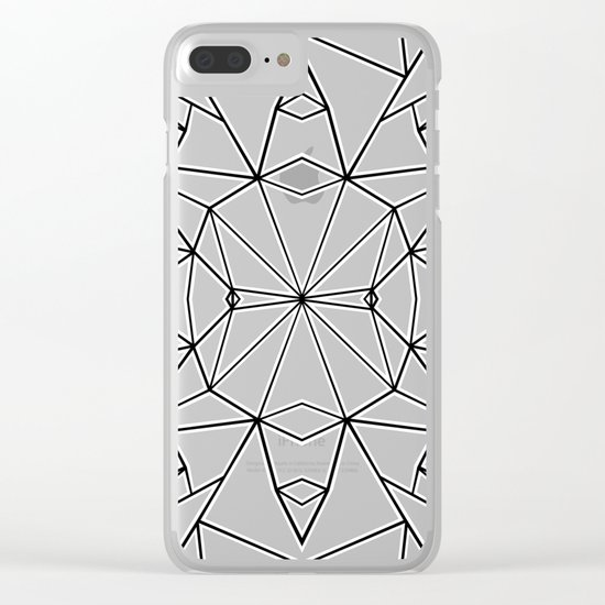 Ab Star Clear iPhone Case