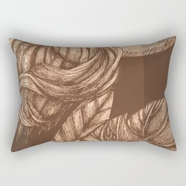 Pretty Peachy Rectangular Pillow