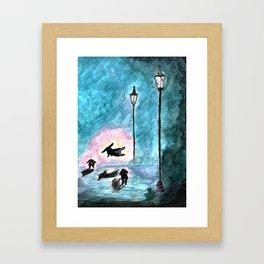 Midnight Binkies Framed Art Print