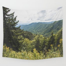 Smoky Mountain Haven - Nature Photography Wall Tapestry