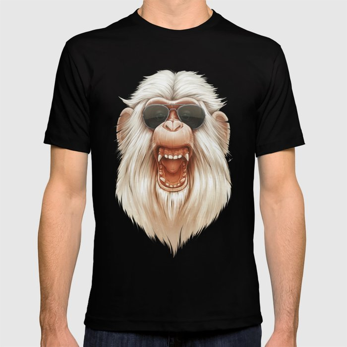 The Great White Angry Monkey T-shirt