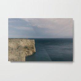 Cabo de S. Vicente, Sagres, Algarve Portugal. Color version. Metal Print