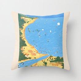 Travel Posters - Algarve Throw Pillow