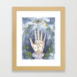 Hand of Plenty Framed Art Print