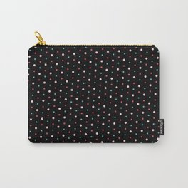 Black Polka Carry-All Pouch
