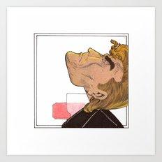 PEZ neck Art Print