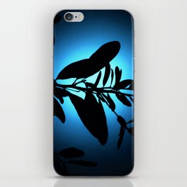 Lost in Blue Moonlight iPhone Skin