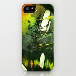Where All Started Where All Ends iPhone Case