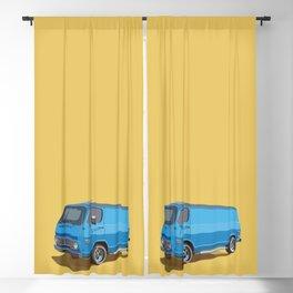 Blue Classic Van Blackout Curtain