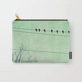 Birds on a Wire, no. 7 Carry-All Pouch