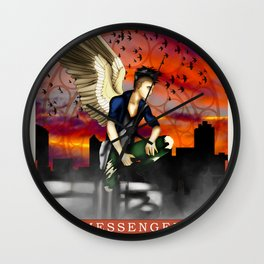 Wings Of Faith : Messenger Wall Clock
