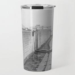 Panama Canal construction Travel Mug