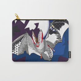 bat pattern Carry-All Pouch