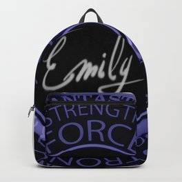 My name is Emily Backpack