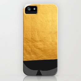 Conceptual and golden IV iPhone Case