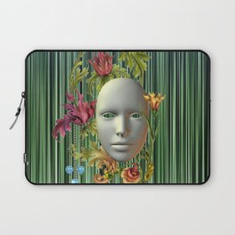 Mask of madness Laptop Sleeve