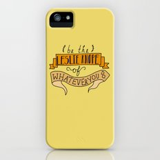 Leslie Knope, Yellow Slim Case iPhone (5, 5s)