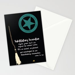 Substitutiary Locomotion Stationery Cards