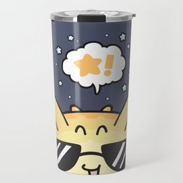 Sunny Blowfish Travel Mug