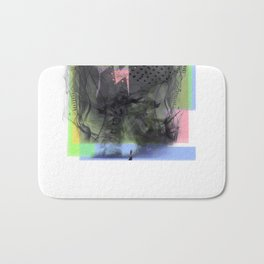 Brain Sync/Pastel Brights Bath Mat